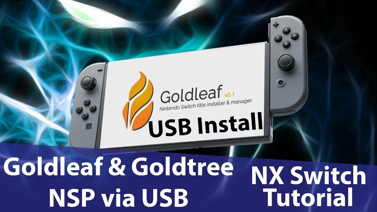 ニンテンドスイッチROMファイルの吸出し・nspインストール、ファイルブラウザ、チケット編集可能な『Goldleaf』設定・やり方