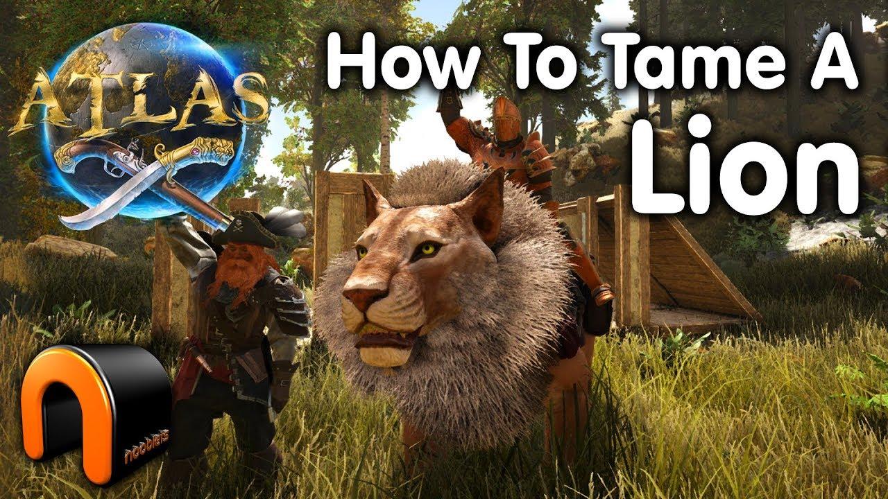 「ATLAS」簡単にテイムをする方法とおすすめの捕獲装置 動物・モンスターを飼いならす「アトラス」