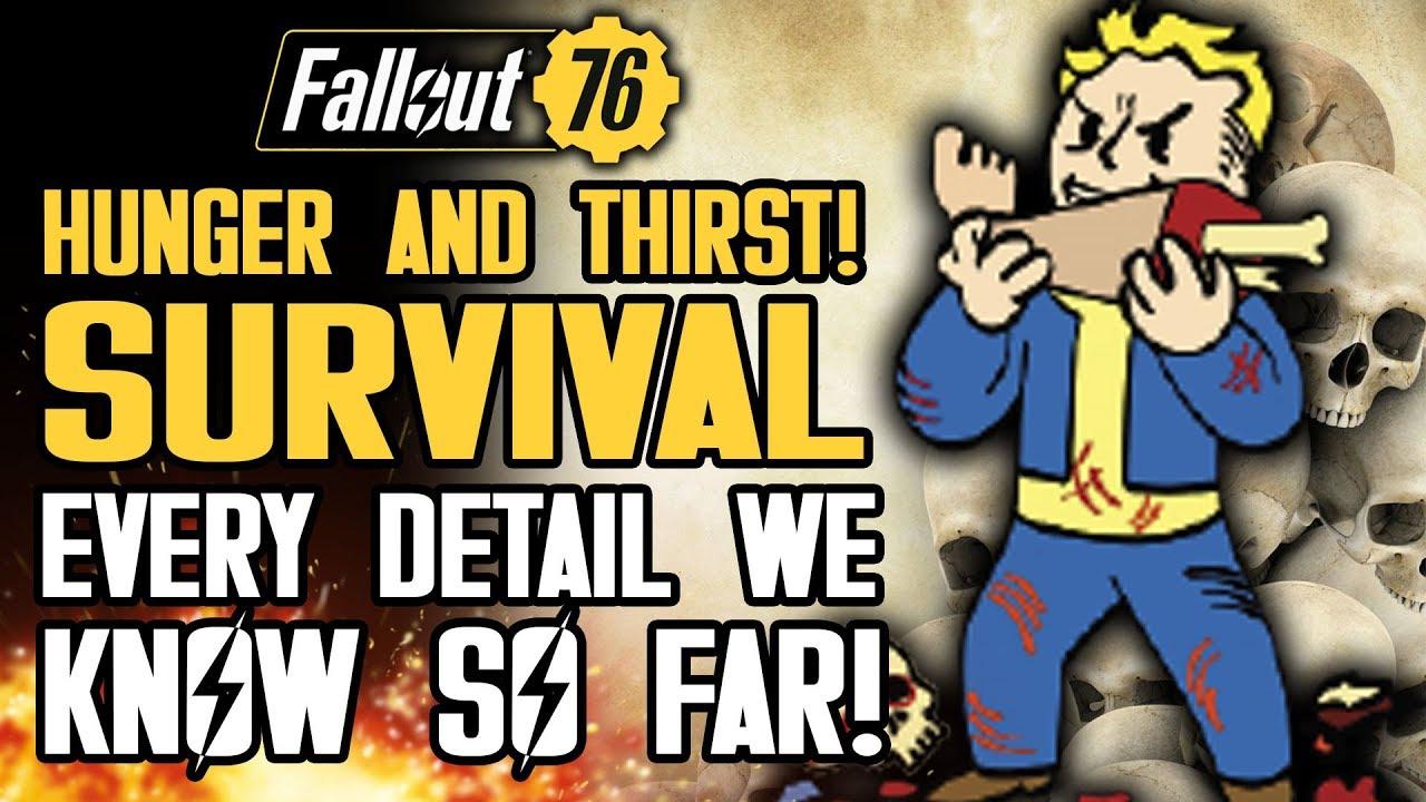 『フォールアウト76』空腹、飢え・喉の渇きの効果 おすすめパークなどの対策法(Fallout 76)
