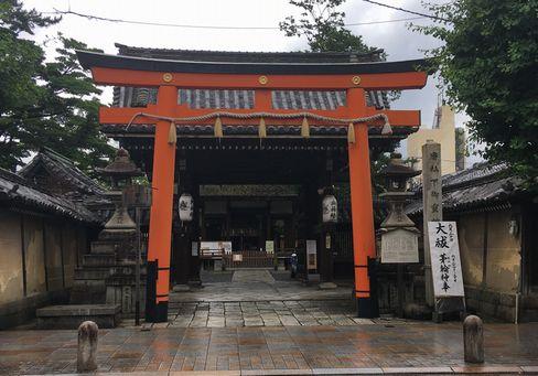 下御霊神社・正門_H30.06.15撮影