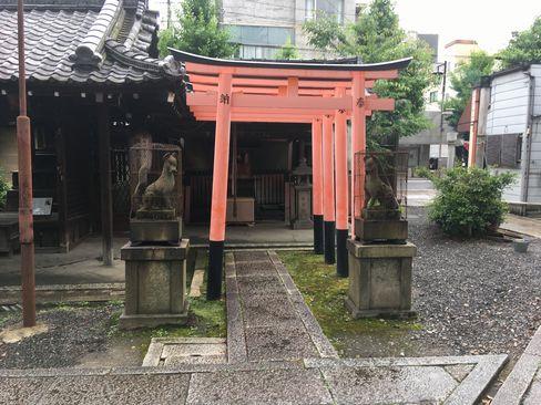 下御霊神社・稲荷社_H30.06.15撮影