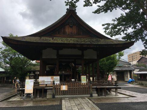 下御霊神社・拝殿_H30.06.15撮影