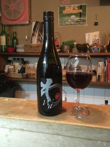 たすくの赤ワイン