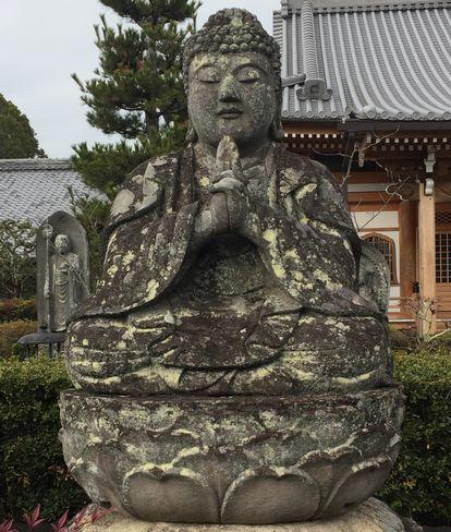 蓮華寺・五智如来像・宝生如来_H31.02.09撮影