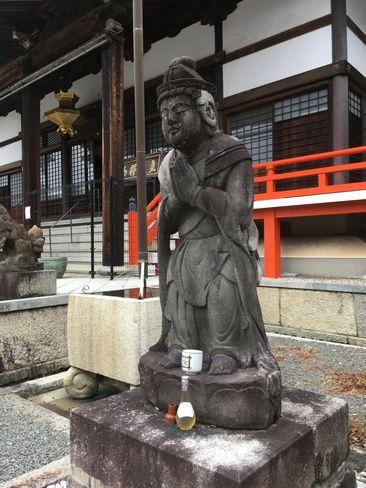 本圀寺・勢至菩薩像_H31.02.09撮影
