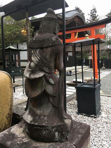 本圀寺・勢至菩薩像背後から_H31.02.09撮影