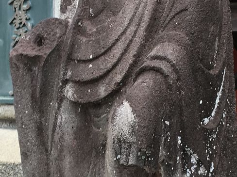 本圀寺・十一面観音像・両手_H31.02.09撮影
