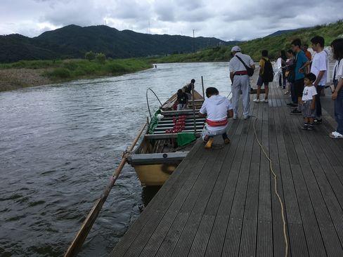 保津川下り乗船所_R01.07.14撮影