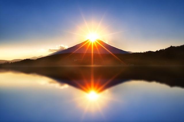 初日の出富士 のコピー
