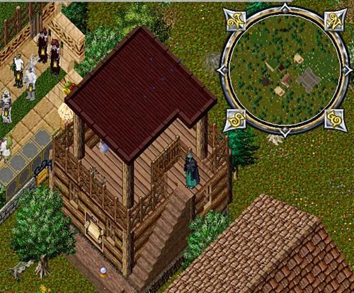 セカンドハウスはゲート付近と決めている、死んだときのため。