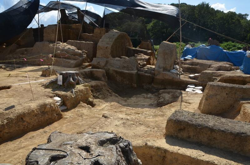 南山城跡発掘調査DSC_2943