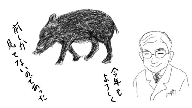 イノシシ新年-1
