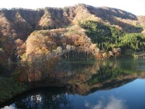 181101津軽白神湖