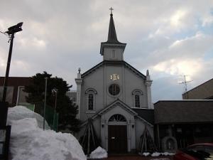 190221弘前カトリック教会