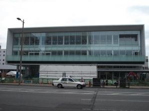 190905新庁舎サードプレイス前面