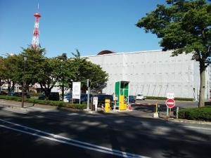 190926弘前文化センター駐車場