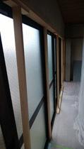 181006 表面ガラス戸木枠4