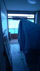 181015 洋室窓枠交換1