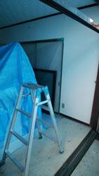 181015 洋室窓枠交換2
