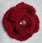 190218 赤い花を