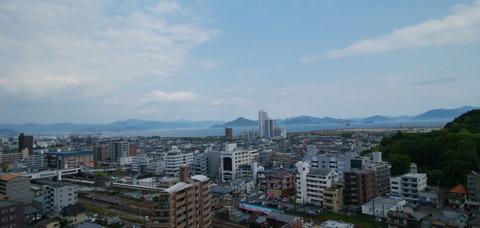 190514 窓から見える広島湾