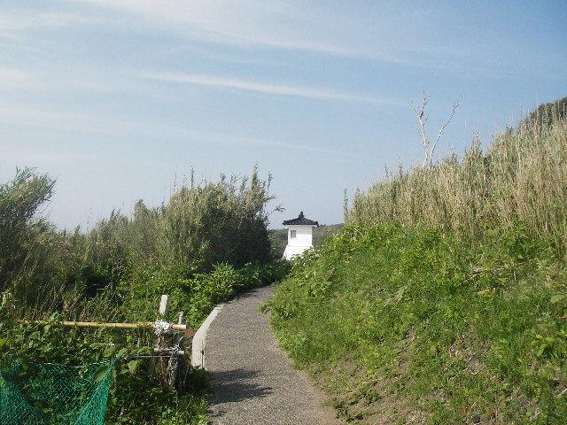 旧福浦灯台への道201805-2