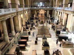 カイロ博物館内