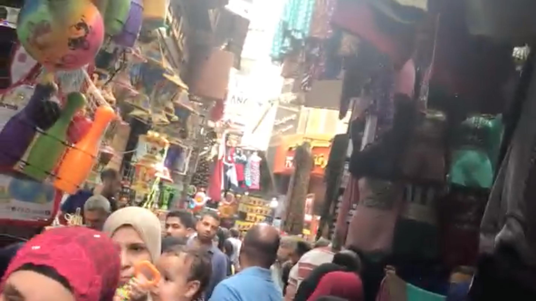 カイロのクレイジーマーケット