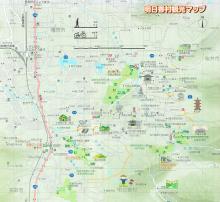 飛鳥観光マップ