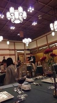 奈良ホテルダイニング三笠
