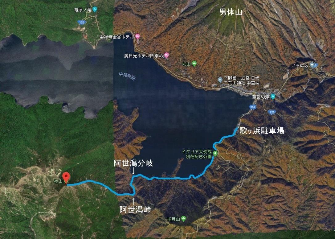 社山(地図)