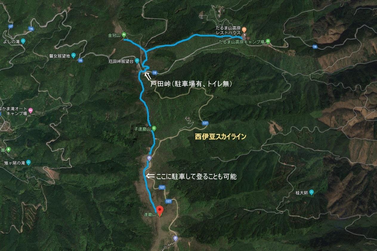 201901_達磨山・金冠山MAP