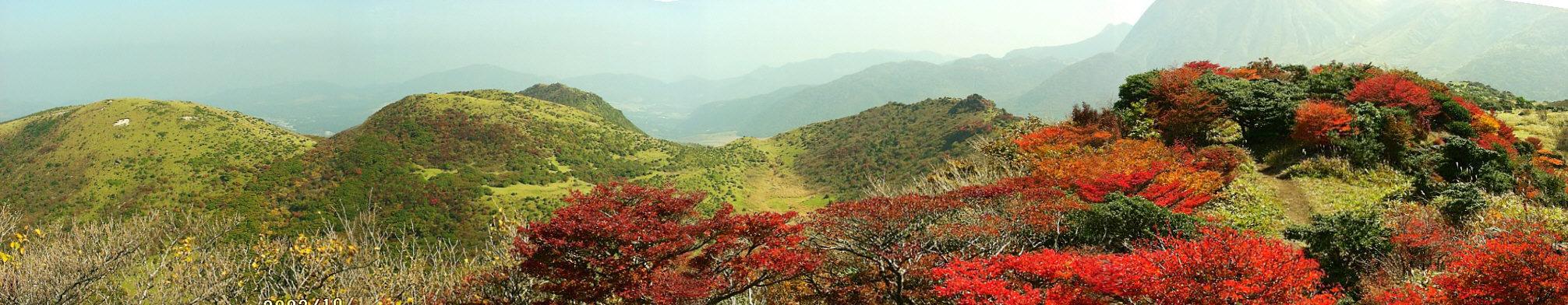 黒岩山の紅葉