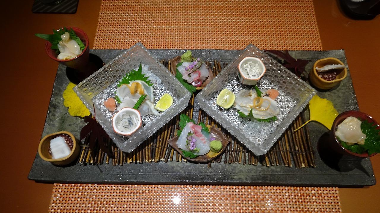 海のしょうげつ 大地の二 食事・感想編 (2018年11月)