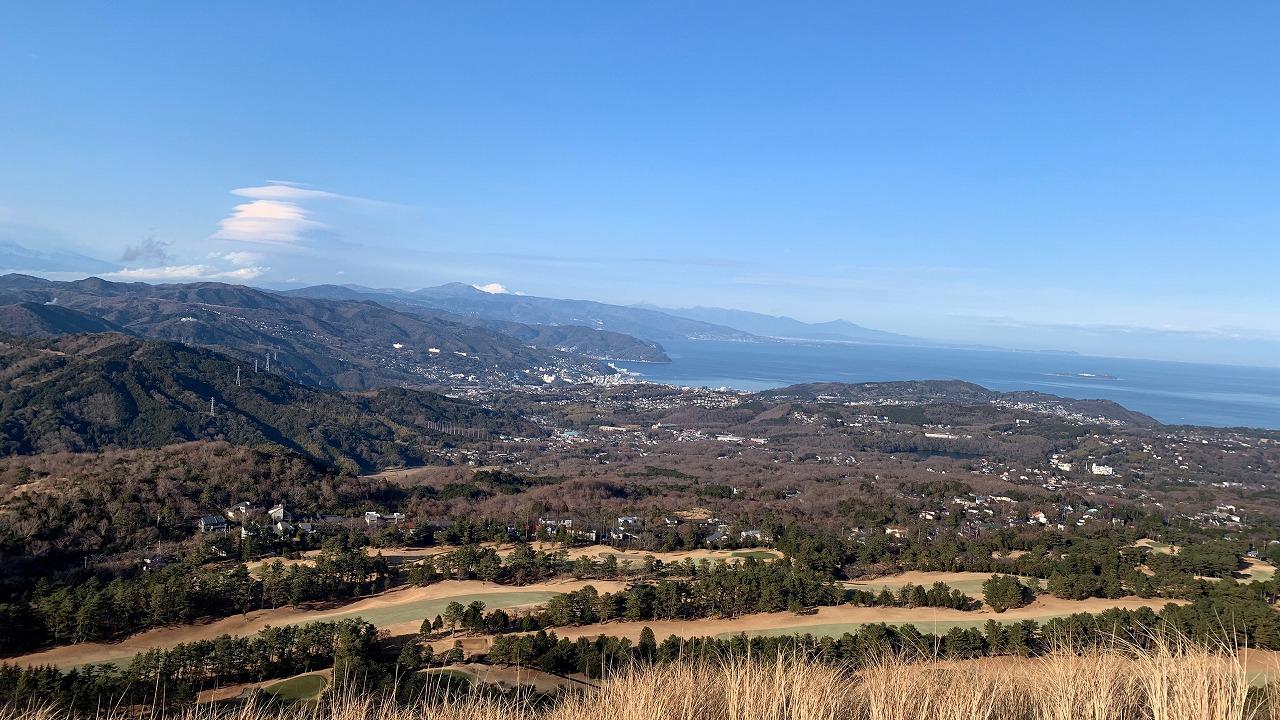 大室山とさくらの里 (2019年1月)