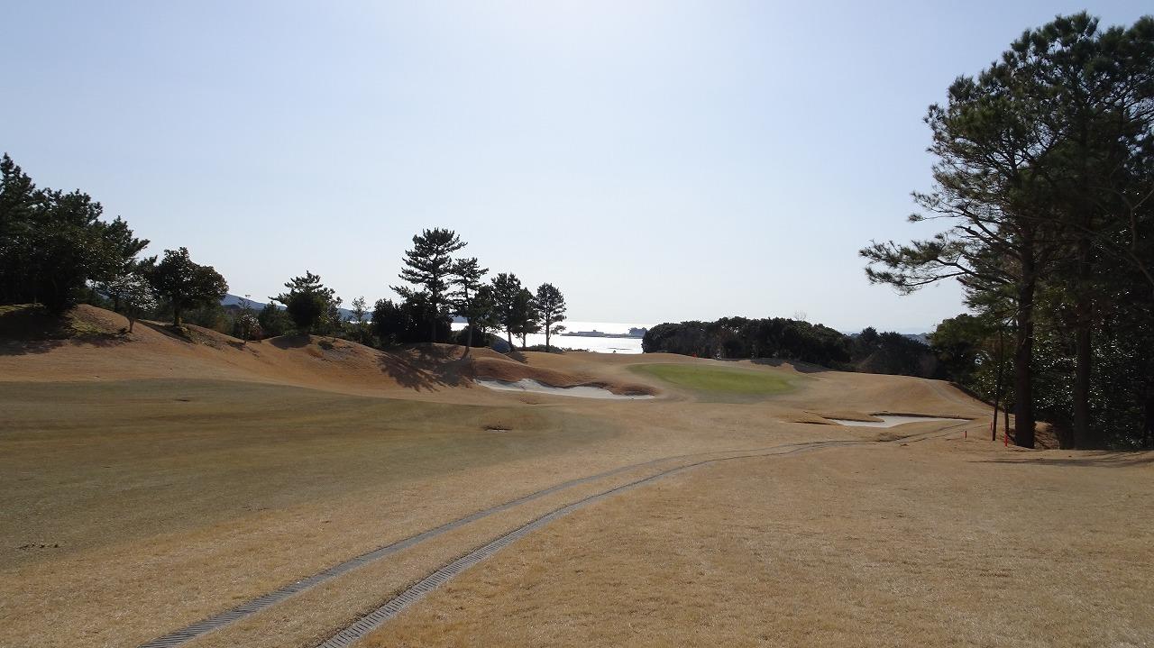 景色最高 浜島カントリークラブ (2019年2月)