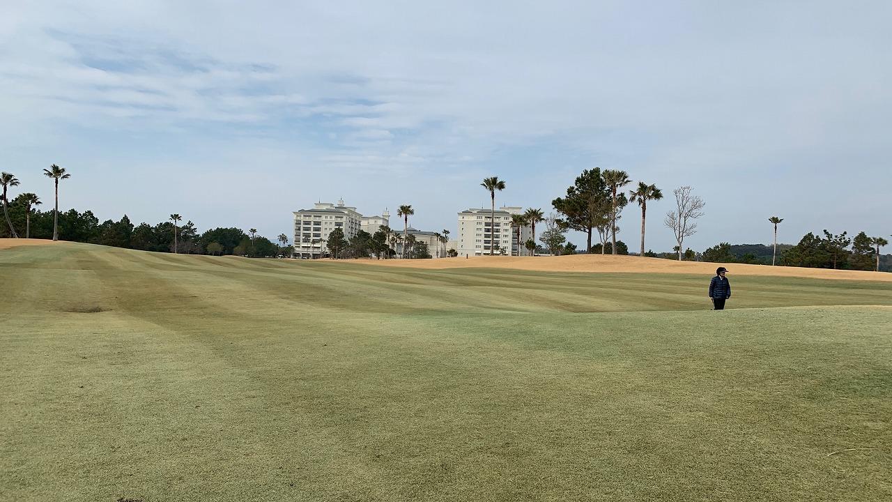 グランディ浜名湖ゴルフクラブ (2019年2月)