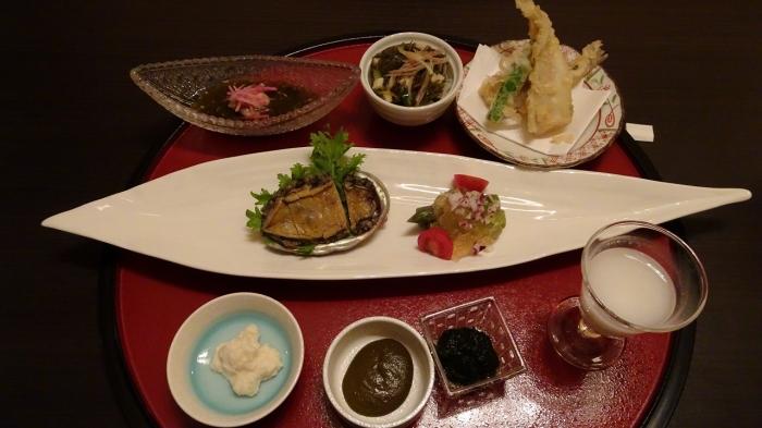 川奈別邸夕食 (3)