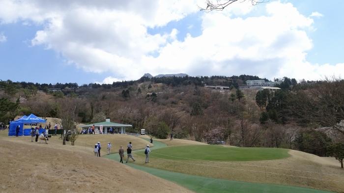ゴルフ観戦 (2)