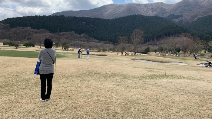ゴルフ観戦 (8)