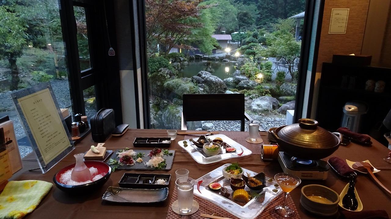船山温泉 食事・感想編 (2019年8月)