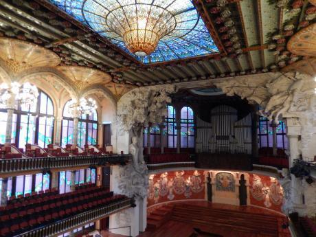 バルセロナ2017.9カタルーニャ音楽堂