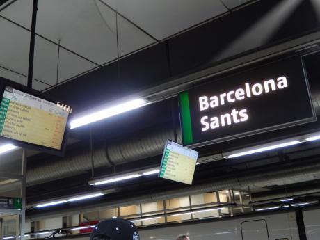 バルセロナ2017.鉄道