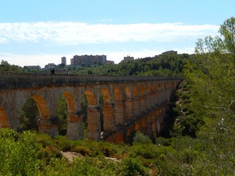 バルセロナ2017.9タラゴナ水道橋