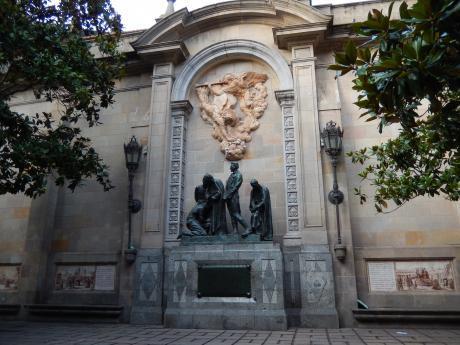 バルセロナ2017.9旧市街