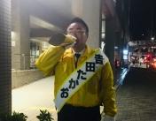 190401醍醐駅夜立ち