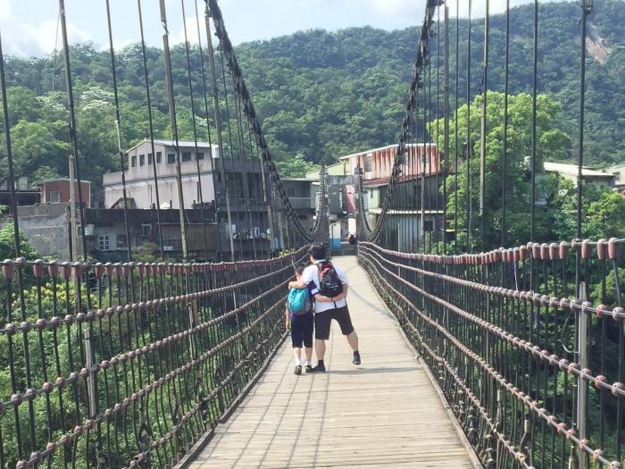 十分吊り橋