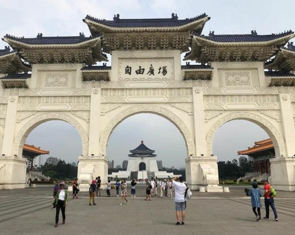 中正記念堂入口