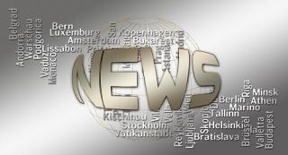報道機関 プレス リリース のイメージ図