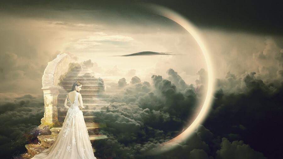 天国への階段のイメージ画像